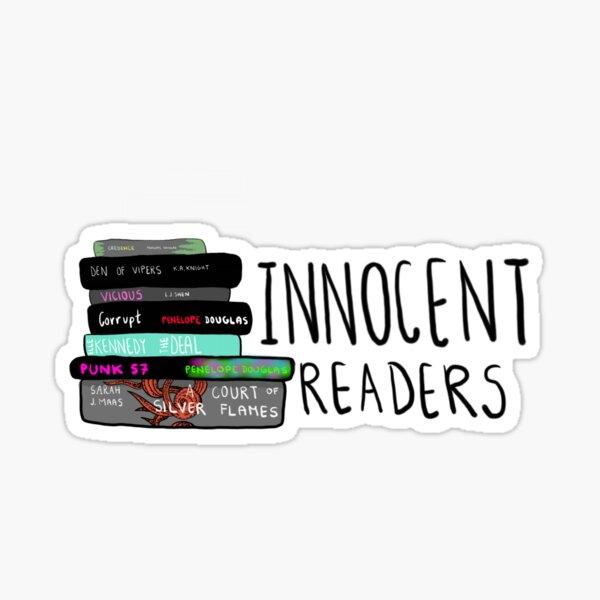 Innocent readers books Sticker