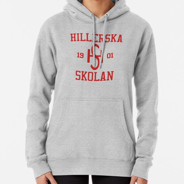 Hillerska Skolan - Wilhelm's Sweatshirt Young Royals (Original Red Font) Pullover Hoodie