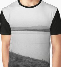 Looking North on Roosevelt Lake Graphic T-Shirt