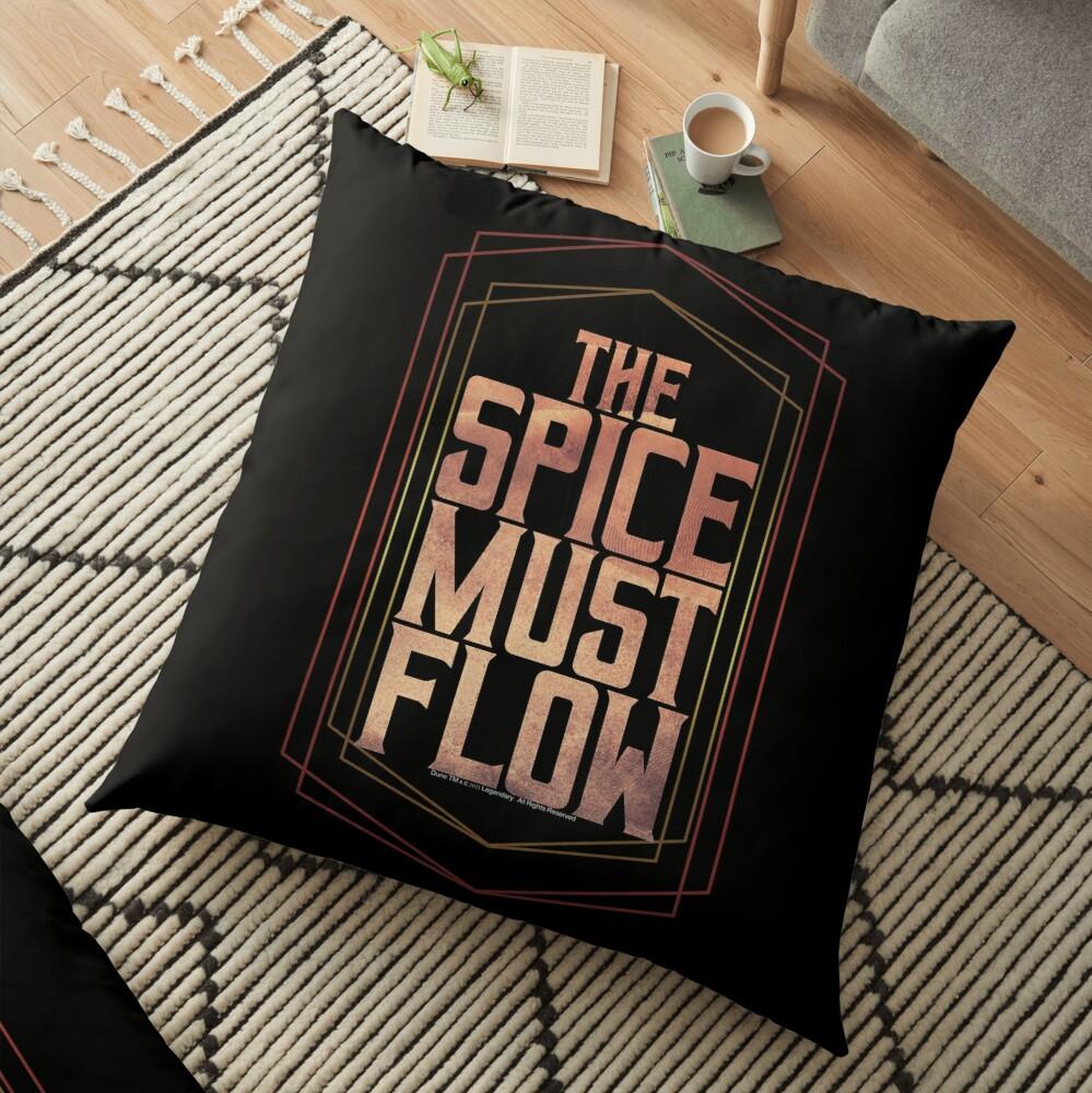 The spice must flow-Dune Movie- Baron Harkonnen  Floor Pillow