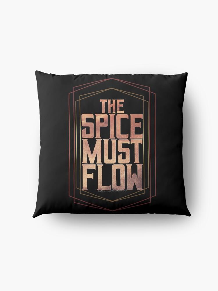 Alternate view of The spice must flow-Dune Movie- Baron Harkonnen  Floor Pillow