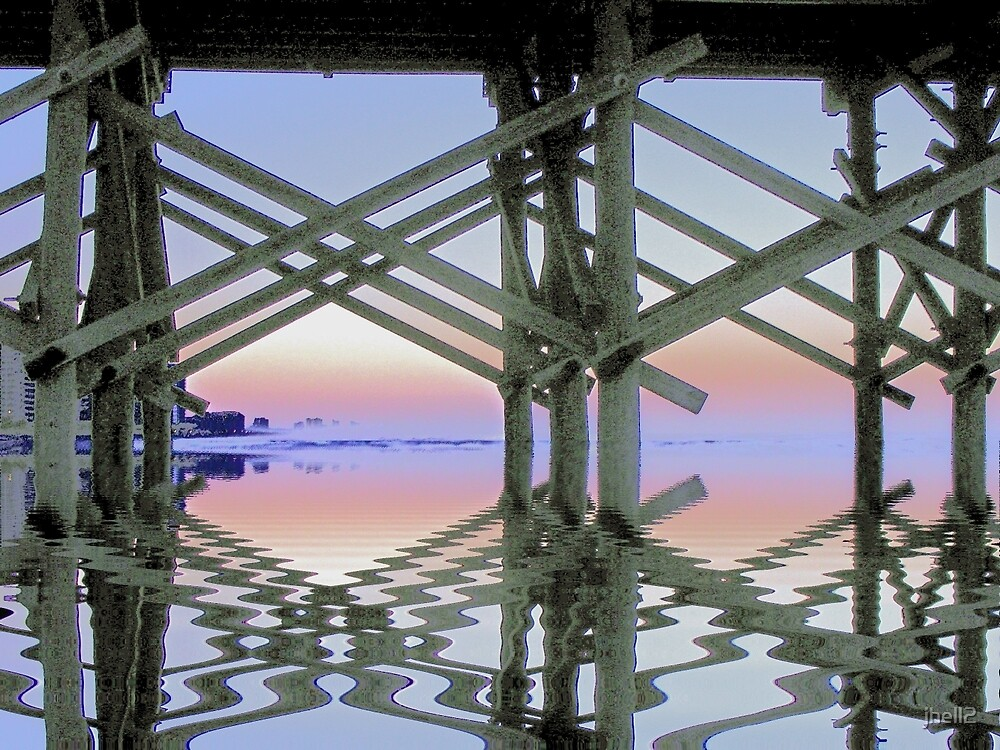 Through the Pier by jhell2