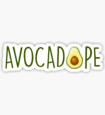 Avocadope Sticker