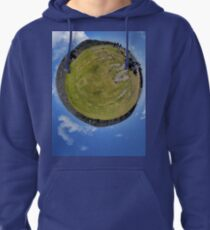 Fortified Ball - Inside Dun Aengus stone fort Pullover Hoodie