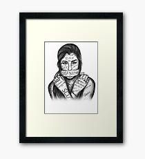 Lauren Jauregui - Stop Bullying Framed Print