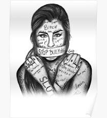 Póster Lauren Jauregui - Detener la intimidación