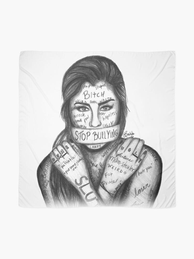 Vista alternativa de Pañuelo Lauren Jauregui - Detener la intimidación