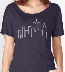 Seattle Skyline (Frasier) Women's Relaxed Fit T-Shirt