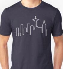 Camiseta ajustada Seattle Skyline (Frasier)