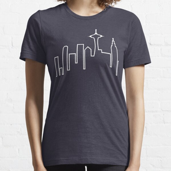 Skyline de Seattle (Frasier) Camiseta esencial