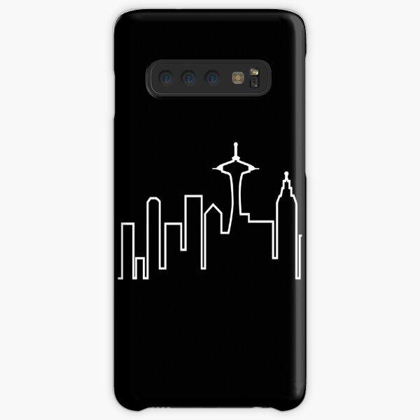 Skyline de Seattle (Frasier) Funda rígida para Samsung Galaxy