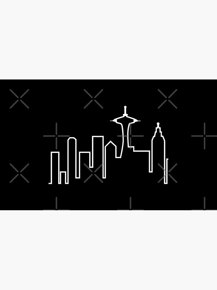Seattle Skyline (Frasier) by fandemonium