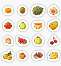 Pixel Fruits Set 1 Sticker