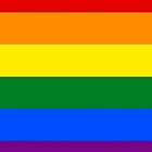 Gay Pride Flag / Rainbow by Colorbox