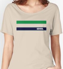 AYRTON SENNA HELMET DESIGN Women's Relaxed Fit T-Shirt