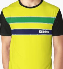 AYRTON SENNA HELMET DESIGN Graphic T-Shirt
