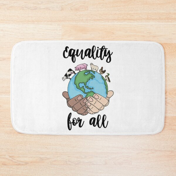 Equality for all  Bath Mat