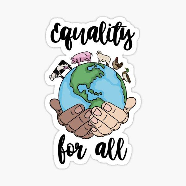 Igualdad para todos Pegatina