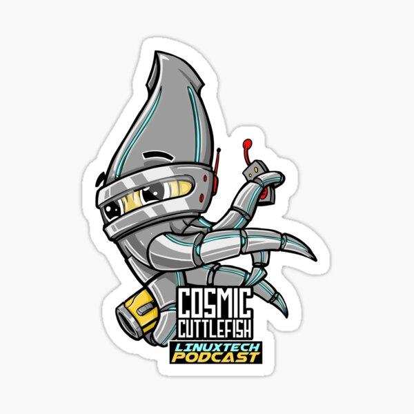 Cosmic Cuttlefish  Sticker