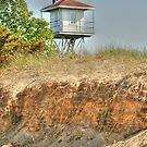 Beach Tower by Michael  Herrfurth