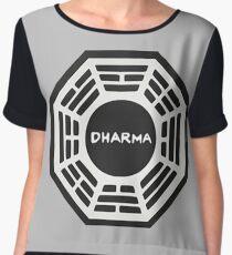 LOST: Dharma Logo Women's Chiffon Top
