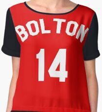 High School Musical: Bolton Jersey Women's Chiffon Top