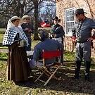 Civil War Re Enactors by WildestArt