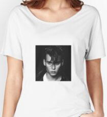 Johnny Depp Women's Relaxed Fit T-Shirt
