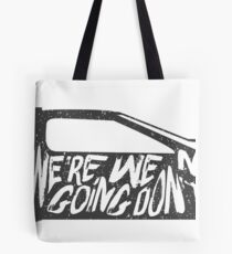 future the back to Tote Bag