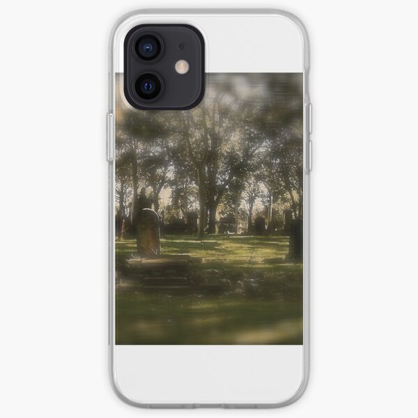 Cemetery. St. Peters. N.S.W. iPhone Soft Case