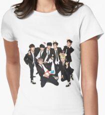Camiseta entallada para mujer BTS - Niños de Bangtan