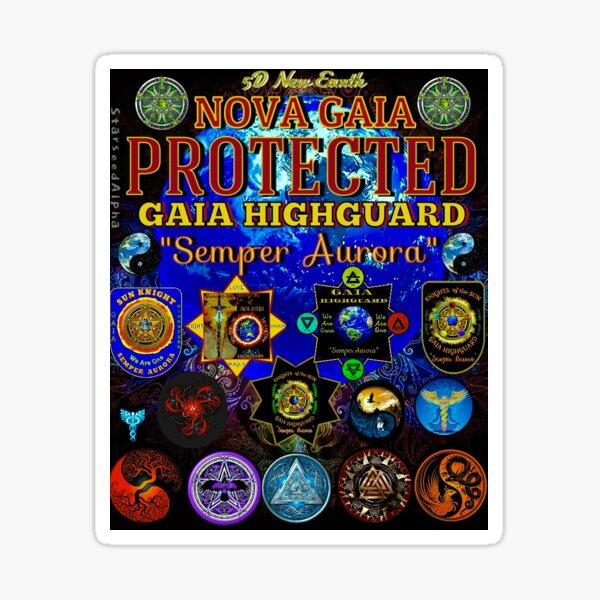 NOVA GAIA PROTECTION  Sticker