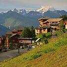 Mont Blanc from Vallandry by RedHillDigital
