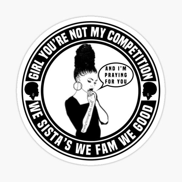 We Sista's Sticker
