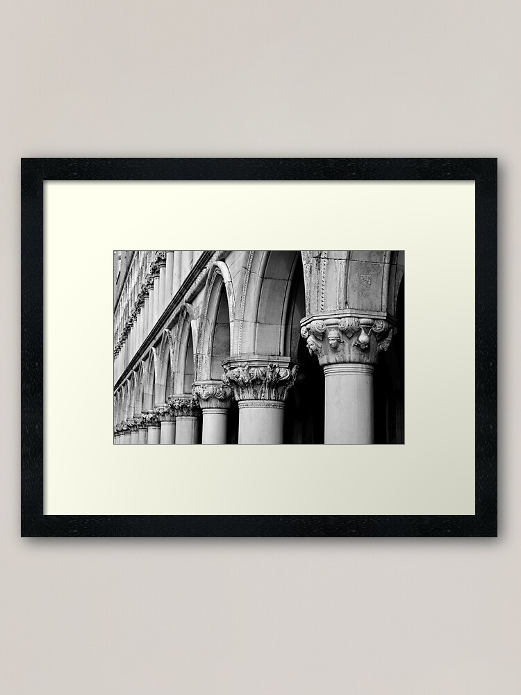 Alternate view of Palazzo Ducale Framed Art Print