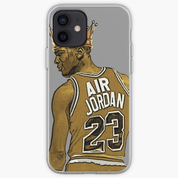 "Michael ""Air"" Jordan - King iPhone Soft Case"