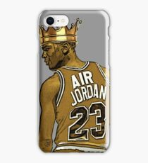 "Michael ""Air"" Jordan - King iPhone Case/Skin"