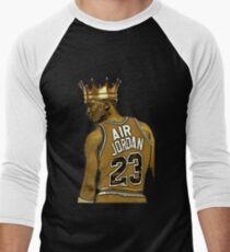 "Michael ""Air"" Jordan - King Men's Baseball ¾ T-Shirt"