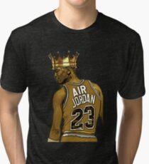 "Michael ""Air"" Jordan - King Tri-blend T-Shirt"