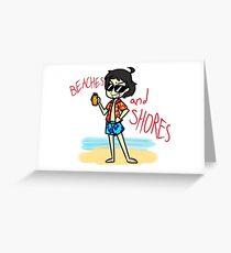 Beaches & Shores Greeting Card
