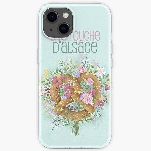 A touch of Alsace iPhone Soft Case