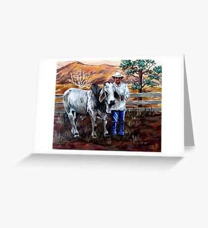 Mr Pratt, The Brahma  Greeting Card