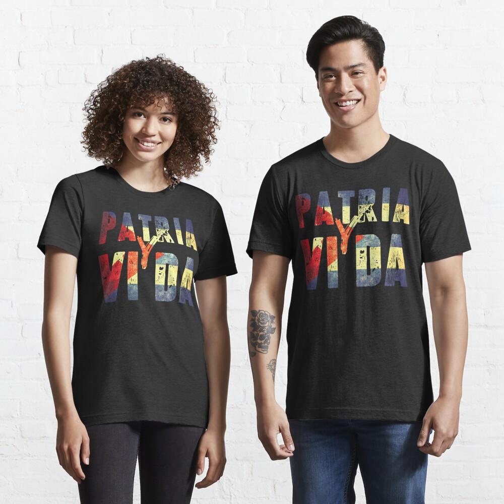 Patria Y Vida Essential T-Shirt