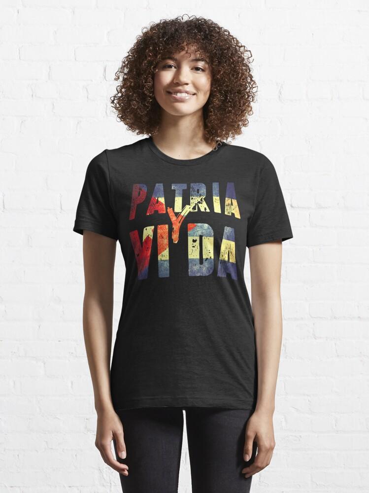 Alternate view of Patria Y Vida Essential T-Shirt
