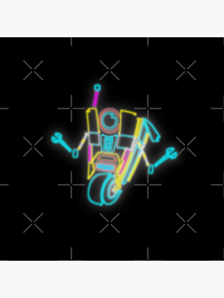 Neon Claptrap by Ratch2929