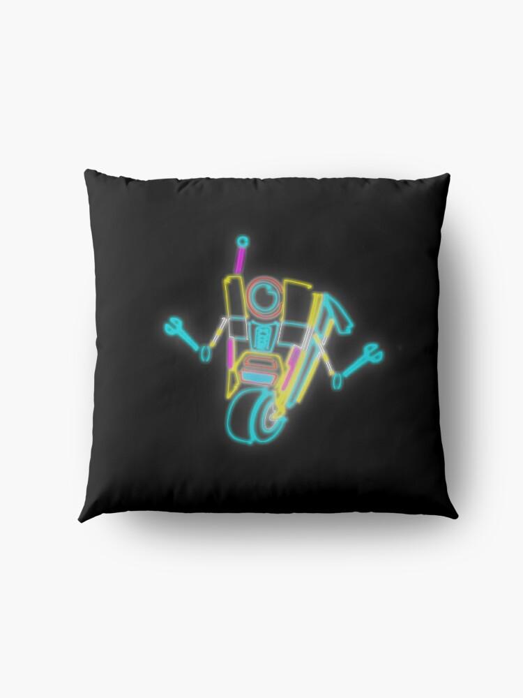 Alternate view of Neon Claptrap Floor Pillow