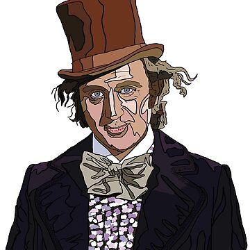 Gene Wilder - Willy Wonka by Matti-walker