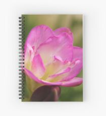 Pink Freesias Spiral Notebook
