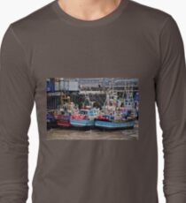 The Tide Is Out In Bridlington Harbour England T-Shirt