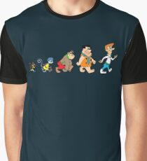 Hanna Barbera Evolution Graphic T-Shirt